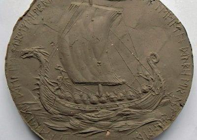 Medaille Schiff